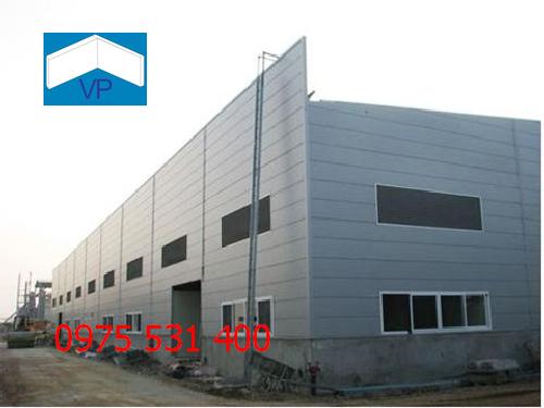 Thi công công trình nhà xưởng tại Bắc Giang cho khách hàng mục đích cho thuê