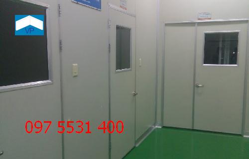vách panel phòng sạch chất lượng