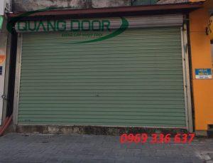 Giá Cửa cuốn Quangdoor tấm liền